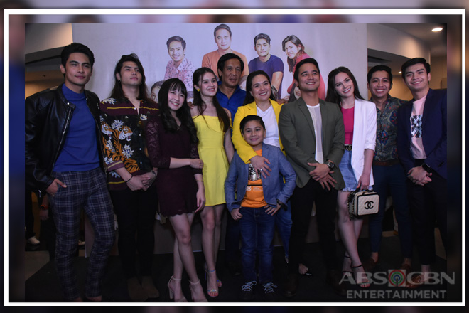 "IN PHOTOS: Pasilip sa naganap na celebrity screening ng upcoming teleserye na ""Pamilya Ko"""